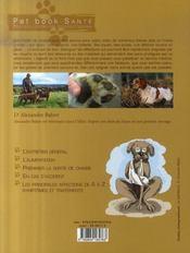 Soigner son chien de chasse - 4ème de couverture - Format classique