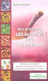 D'Ici Et D'Ailleurs, Les Aliments Qui Guerissent - Intérieur - Format classique