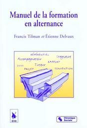 Manuel De La Formation En Alternance - Intérieur - Format classique
