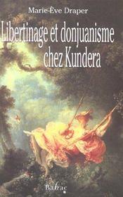 Libertinage donjuanisme chez kundera - Intérieur - Format classique