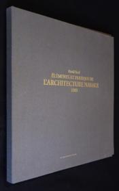 Architecture navale : 1805 - Couverture - Format classique