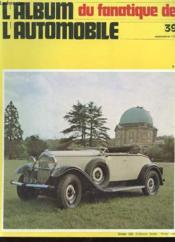 Album Du Fanatique De L'Automobile N°39 - Citroen C6g - Couverture - Format classique