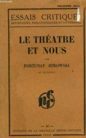 Le Theatre Et Nous - Couverture - Format classique