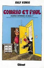 Conrad et Paul t.4 ; damna internat si anal - Intérieur - Format classique