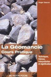 Geomancie Cours Pratique (La) Poche - Intérieur - Format classique