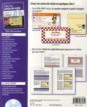 Creez Vos Cartes De Visite ; 15 Projets Cle En Main Sur Le Cd-Rom - 4ème de couverture - Format classique