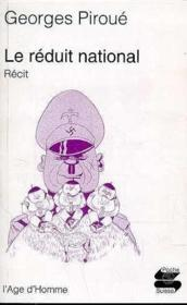 Le Reduit National - Couverture - Format classique