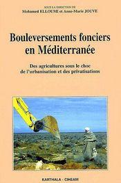 Bouleversements fonciers en méditerranée ; des agriculteurs sous le choc de l'urbanisation et des privatisations - Couverture - Format classique