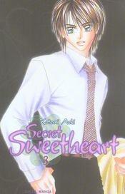 Secret sweetheart t.3 - Intérieur - Format classique