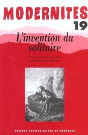 L'Invention Du Solitaire - Intérieur - Format classique