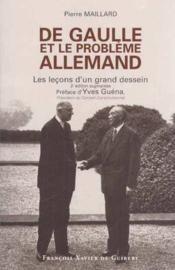 De Gaulle Et Le Probleme Allemand - Couverture - Format classique