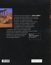 Art grec - 4ème de couverture - Format classique