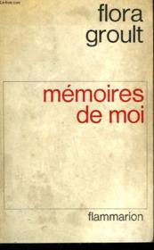 Memoires De Moi. - Couverture - Format classique