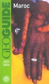 Geoguide ; Maroc (Edition 2003/2004) - Intérieur - Format classique