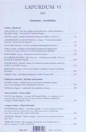 Revue Lapurdum T.6 - 4ème de couverture - Format classique