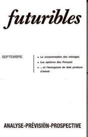 Futuribles No113 Septembre 1987 - Couverture - Format classique