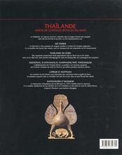 Thaïlande - 4ème de couverture - Format classique