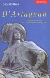 D'Artagnan - Intérieur - Format classique