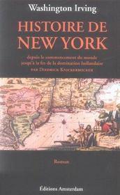 Histoire De New York - Intérieur - Format classique