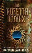 Vente livre :  THE ROSETTA CODEX  - Richard Paul Russo