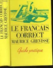 Francais Correct - Couverture - Format classique
