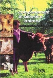 Comportement et bien-être animal - Couverture - Format classique