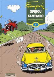 Spirou et Fantasio ; intégrale t.4 ; aventures modernes (1954-1956) - Intérieur - Format classique