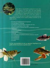 500 conseils pour l'aquarium tropical - 4ème de couverture - Format classique