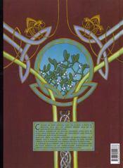 Arthur t.1 ; Myrddin le fou - 4ème de couverture - Format classique