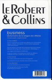 Business - 4ème de couverture - Format classique