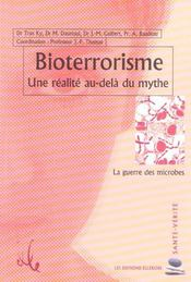 Bioterrorisme - Realite Au-Dela Du Mythe - Intérieur - Format classique
