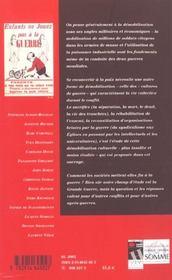 Revue 14-18 ; Démobilisations - 4ème de couverture - Format classique
