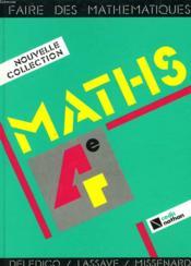 Faire Des Mathematiques 4e Eleve - Couverture - Format classique