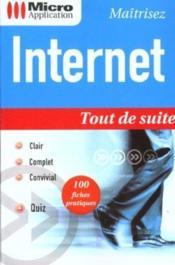 Internet Tout De Suite - Couverture - Format classique