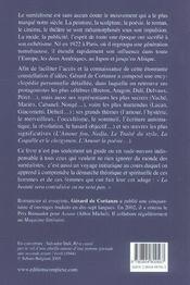 Le Monde Du Surrealisme - 4ème de couverture - Format classique