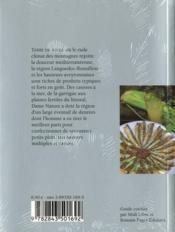 La cuisine du Languedoc-Roussillon et de l'Aveyron - 4ème de couverture - Format classique