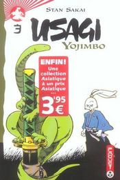 Usagi yojimbo t.3 - Intérieur - Format classique