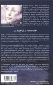 Magie De La Femmme Celte (La) - 4ème de couverture - Format classique