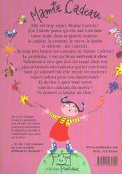 Mamie Cadeau - 4ème de couverture - Format classique