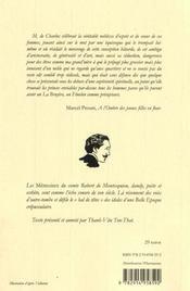Les pas effacés ; mémoires t.1 - 4ème de couverture - Format classique