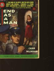 End As A Man - Couverture - Format classique