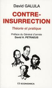 Vente  Contre-insurrection  - David Galula