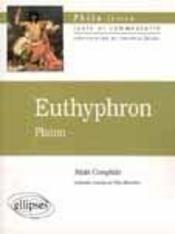 Euthyphron Platon Texte Et Commentaire - Intérieur - Format classique