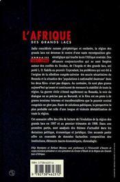 Annuaire 1997-1998 - 4ème de couverture - Format classique