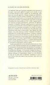 Reflexions Sur L'Exil ; Et Autres Essais - 4ème de couverture - Format classique