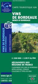 Vins de Bordeaux - Couverture - Format classique