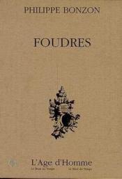 Foudres - Couverture - Format classique