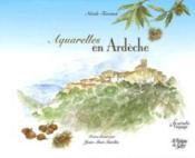 Aquarelles En Ardeche - Couverture - Format classique