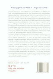 Scenes et tableaux de l'histoire d'auvergne - 4ème de couverture - Format classique