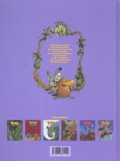 Toto l'ornithorynque t.6 ; Toto l'ornithorynque au pays du ciel - 4ème de couverture - Format classique